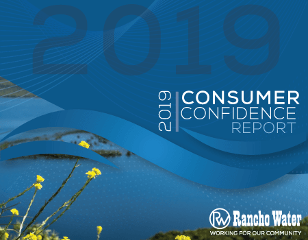 Consumer Confidence Report with photo of Vail Lake