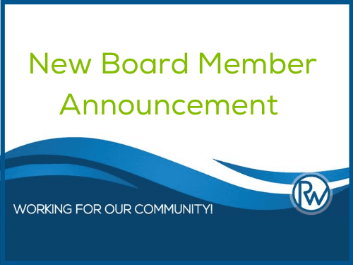 New Board Member Announcement