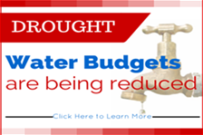 Water Budgets Reducing