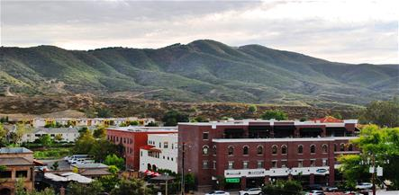 View of Old Town Temecula
